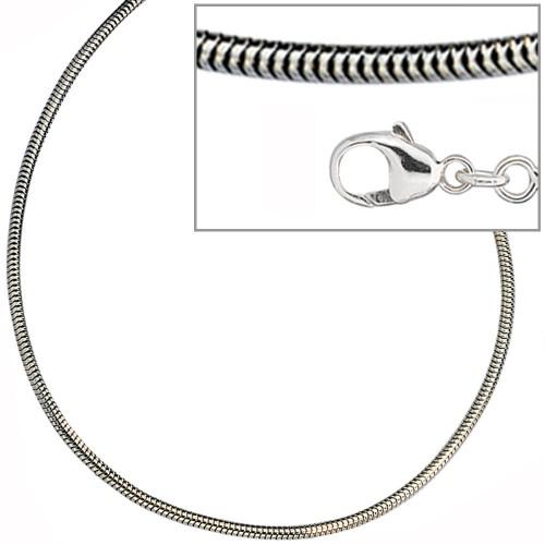 Schlangenkette 1,6 mm, 925Silber