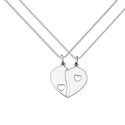 Kette Silber (Silber 925) - Herz