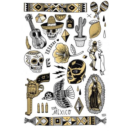 Martin Krusche's Mexiko Set Gold