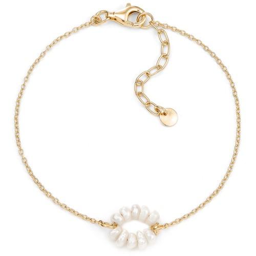 Perlen-Armband Orbit - 925 Sterlingsilber