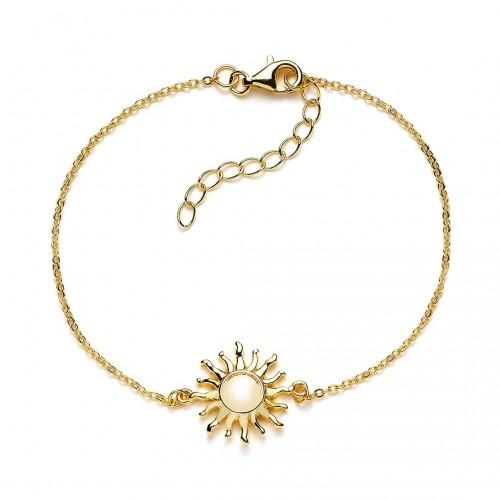 Armband Sonne - 925 Sterlingsilber