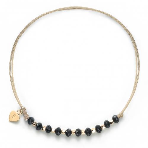 "Herz-Armband mit Perlen ""Glamour""  - 925 Sterlingsilber"