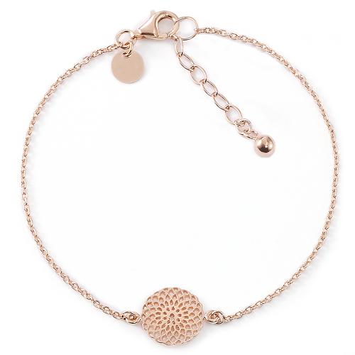 Filigranes Armband Floral Love - 925 Sterlingsilber