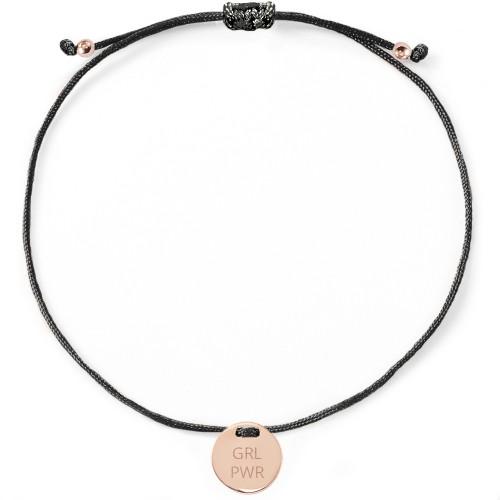 "Armband ""GIRL POWER"" mit Rückseitengravur - 925 Sterlingsilber"