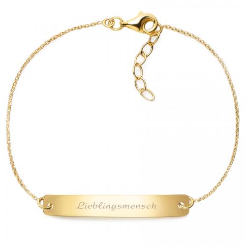 """Armband """"Lieblingsmensch"""" - 925 Sterlingsilber"""