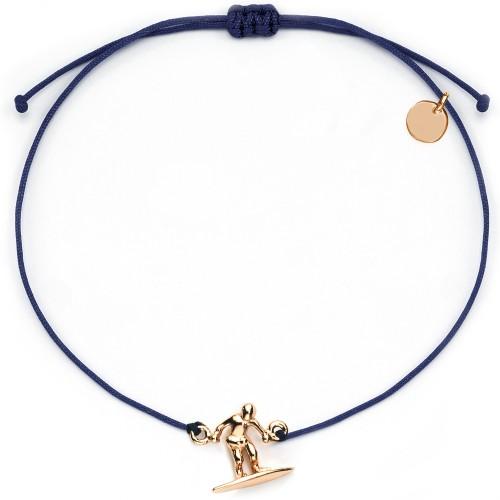 Armband Surfer | 925 Sterlingsilber rosévergoldet