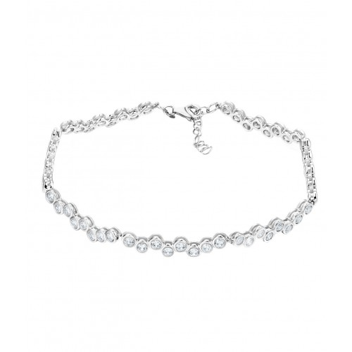 Armband All around Zirkonia - 925 Sterlingsilber