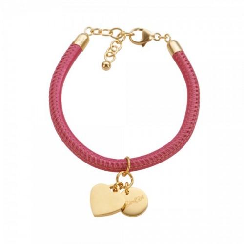 Cannock Armband pink, vergoldet