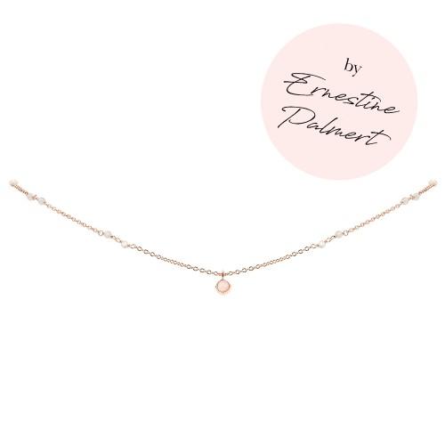 Halskette Mondschein by Ernestine Palmert