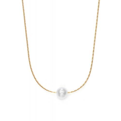 Halskette Radiance mit Süßwasserperle - 925 Sterlingsilber