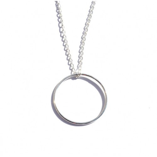 "Halskette ""Circle"" in Silber"