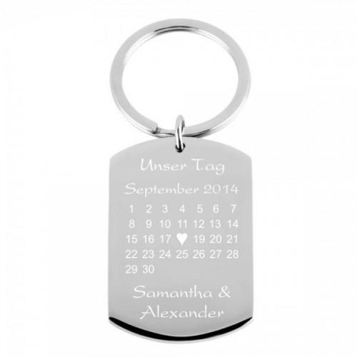 Schlüsselanhänger Kalender