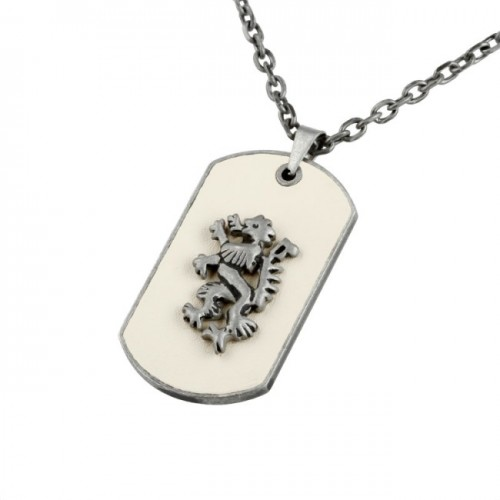 Dog Tag Merano Beige