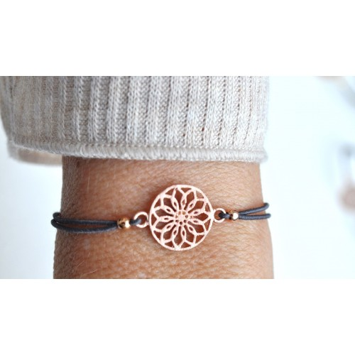 Flower Armband 925 Sterling Silber