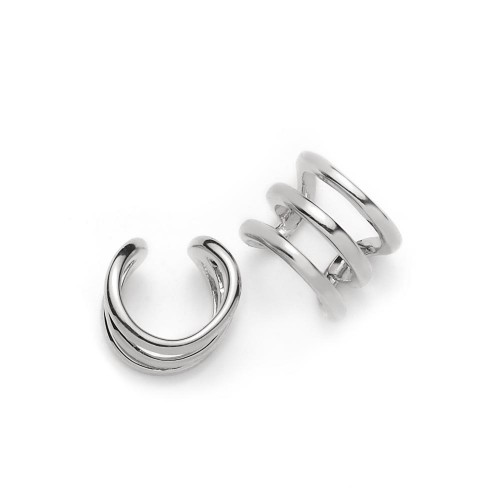 Earcuff Curved - 925 Sterlingsilber