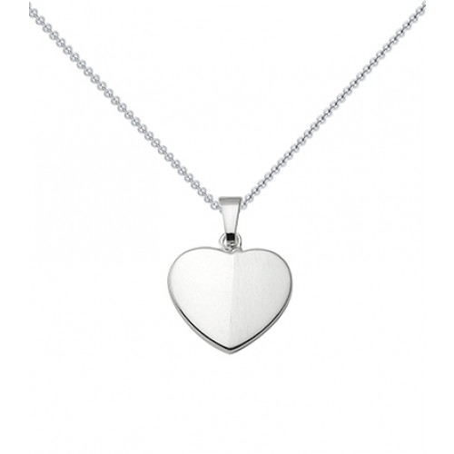 Kette Silber (Silber 925) - Herz - Shiny Heart Amoonic