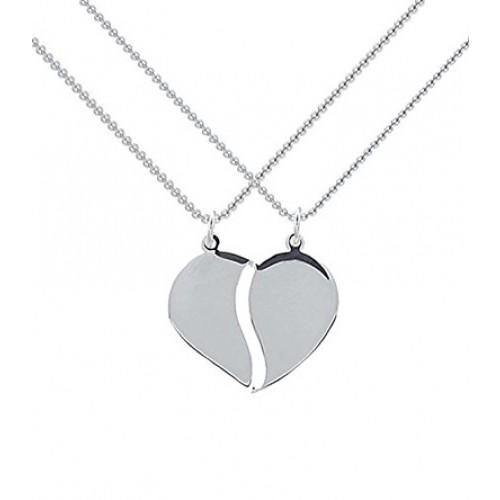 Kette Silber (Silber 925) - Herz - Charming Heart Partnerkette