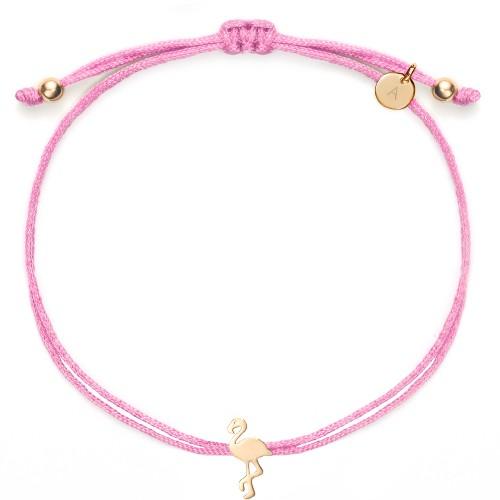 Flamingo-Armband Rosie - 925 Sterlingsilber