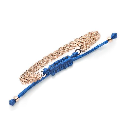Geflochtenes Armband Summer Breeze - 925 Sterlingsilber