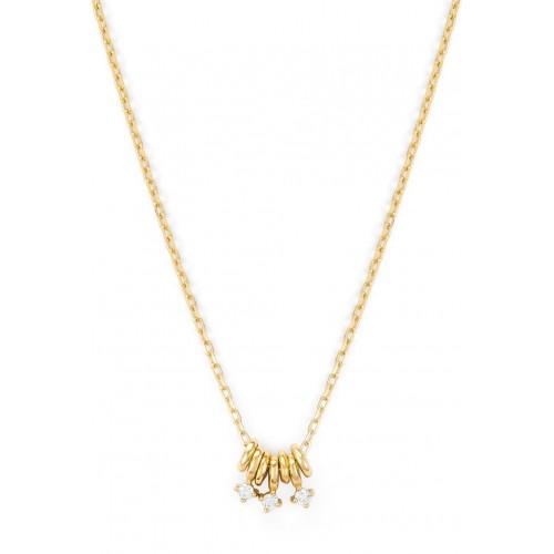 Halskette 7 Rings - 925 Sterlingsilber