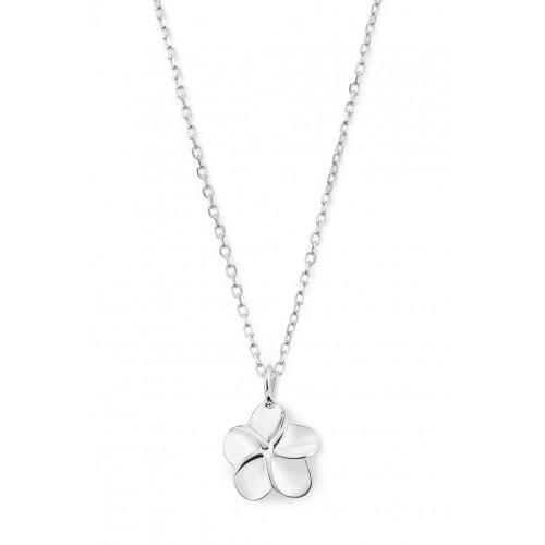 Halskette Plumeria - 925 Sterlingsilber