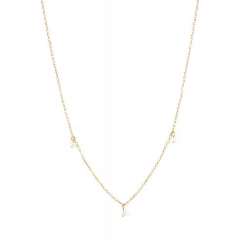 Perlenkette Tranquillity - 925 Sterlingsilber
