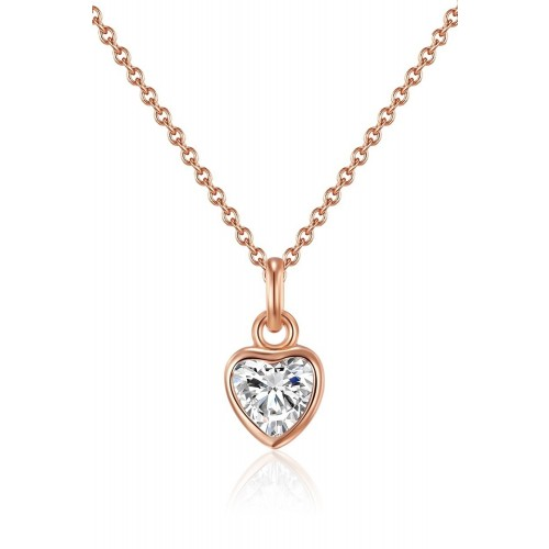 Muttertagsgeschenk - Herz-Kette - 925 Sterlingsilber
