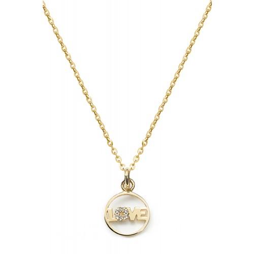 Love-Kette Glitter I 925 Sterlingsilber
