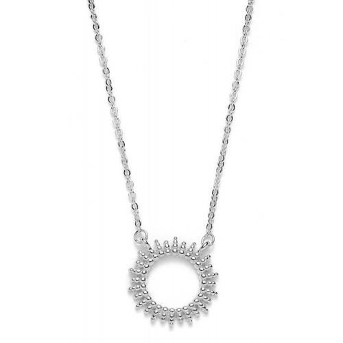 Halskette Mitternachtssonne - 925 Sterlingsilber