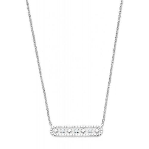 Halskette Milky Way mit Zirkonia - 925 Sterlingsilber