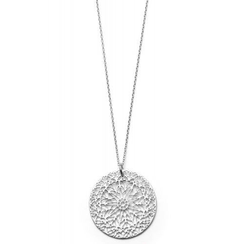 lange Halskette Ornament - 925 Sterlingsilber