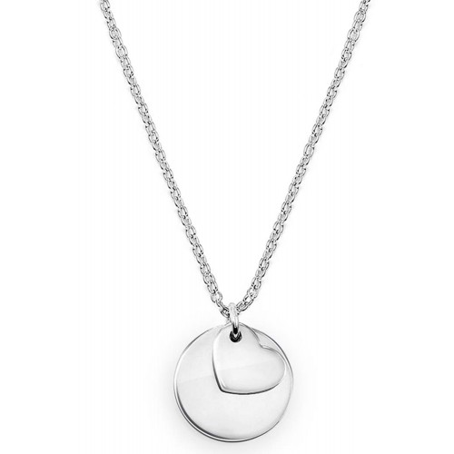 Halskette Round Love - 925 Sterlingsilber