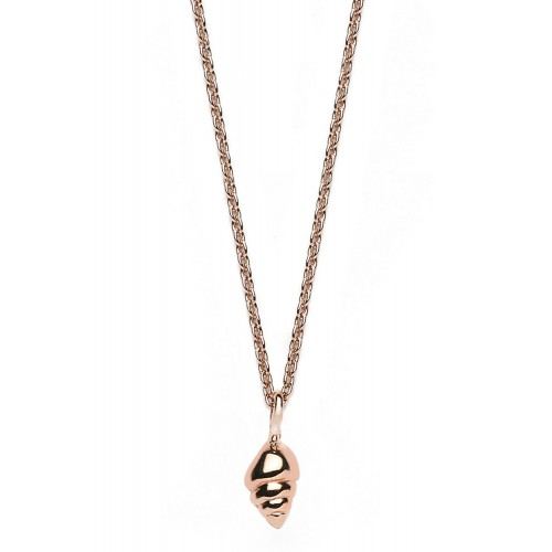 Muschel-Halskette Seeschnecke - 925 Sterlingsilber