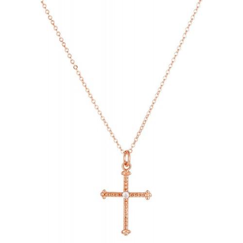 """Kreuz - Halskette """"sparkling Cross"""" 925 Sterlingsilber"""
