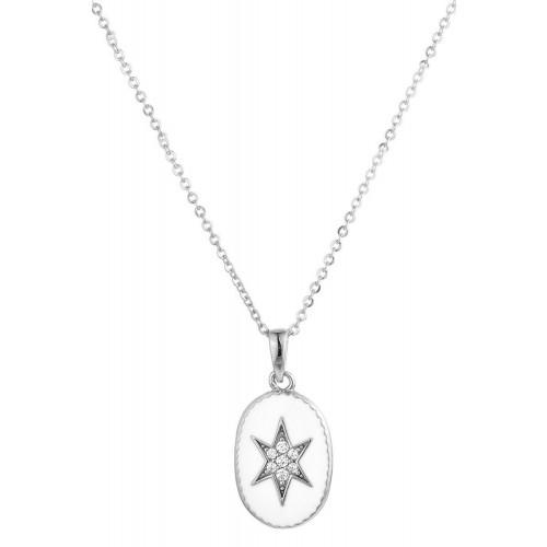 """Halskette """"sparkling star """" - 925 Sterlingsilber"""