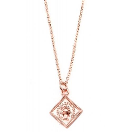 Halskette Stamped - 925 Sterlingsilber
