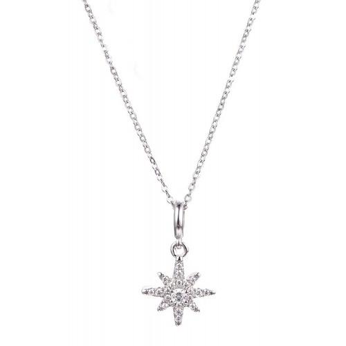 Halskette Siriusstern - 925 Sterlingsilber