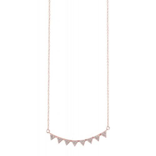 Halskette Triangel - 925 Sterlingsilber