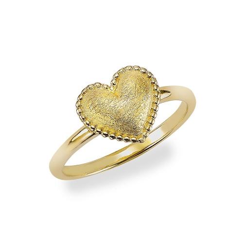 Herz-Ring Full Heart - 925 Sterlingsilber