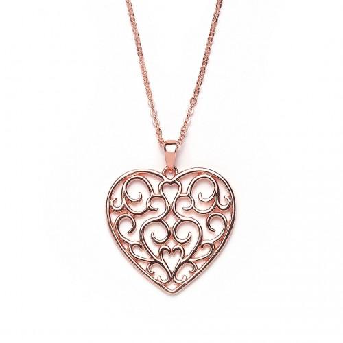 Herzkette - 925 Sterlingsilber