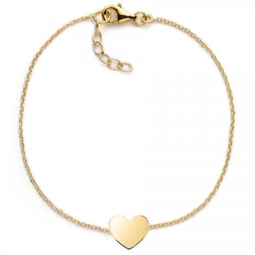 Herz-Armband - individuell gravierbar - 925 Sterlingsilber
