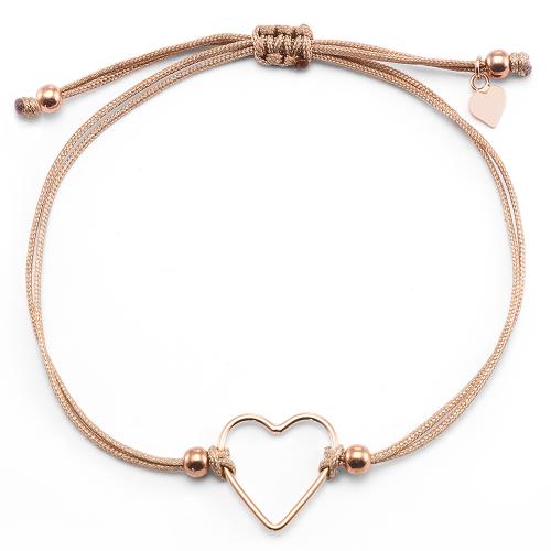 Muttertagsgeschenk - Herz-Armband Deep Love | individuell gravierbar