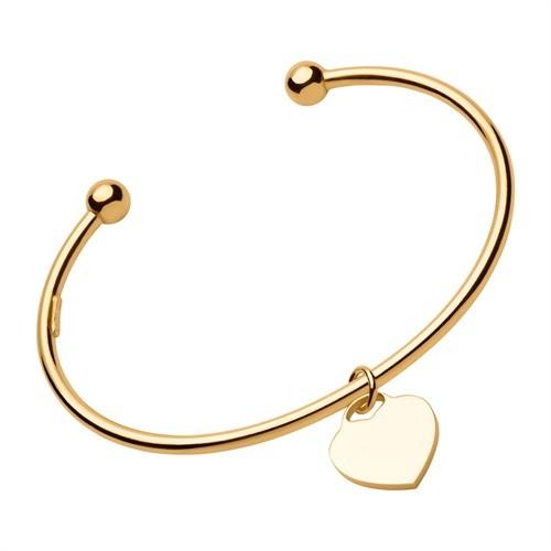 Herz-Armband mit Gravur aus 925 Sterlingsilber