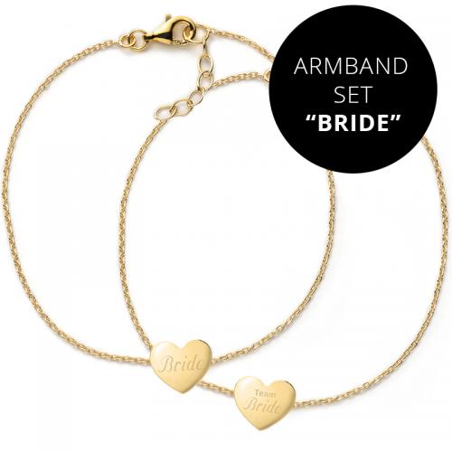"""Armbänder Junggesellinnenabschied """"TEAM BRIDE"""""""