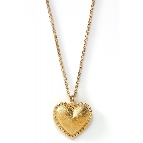 Herzkette Full Heart - 925 Sterlingsilber