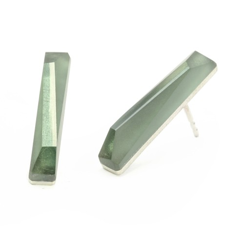 Ohrstecker CRYSTAL_green