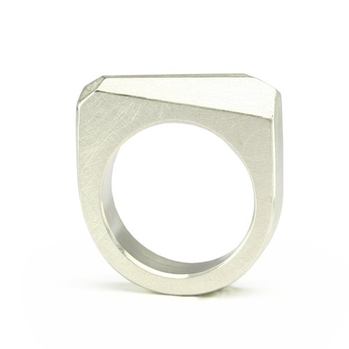 Ring CRYSTAL_silver_L