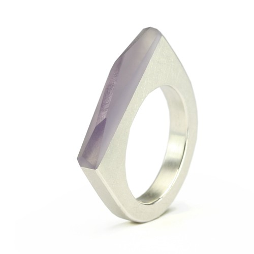 Ring CRYSTAL_violet_S
