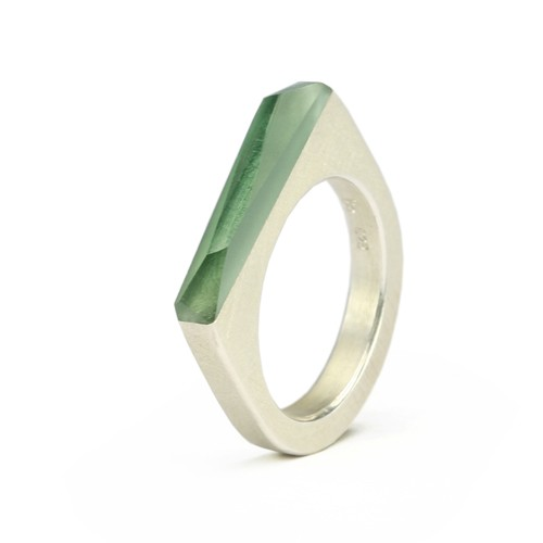 Ring CRYSTAL_green_s
