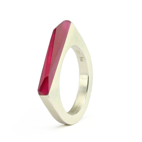 Ring CRYSTAL_ruby_S